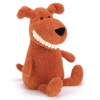 Jellycat Toothy Hund, 36 cm