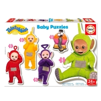 Teletubbies puslespil, baby puzzles