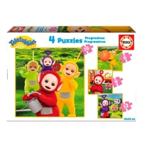 Teletubbies puslespil, 4 puslespil