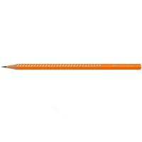Faber-Castell sparkle grip blyant, neon orange