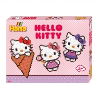 Hello Kitty perleplade sæt