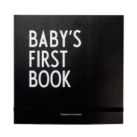Design Letters babys first book, sort