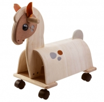 PlanToys ride-on pony