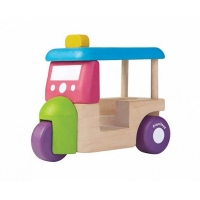 PlanToys mini tuk tuk