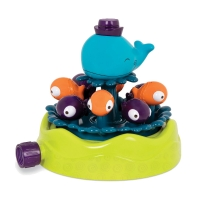 B Toys whirly whale, havesprinkler