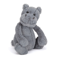 Jellycat Bashful medium flodhest, 31 cm