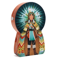 Djeco silhouet puslespil, Indianer
