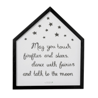 Bloomingville Mini billede med ramme 40x46, May you touch...