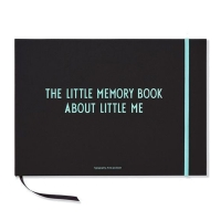 Design Letters, Little Memory Book - turkis
