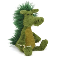 Jellycat bamse, Dudley Drage - 36 cm